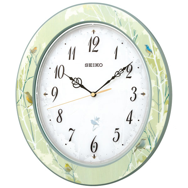 SEIKO セイコー 掛時計 電波時計ナチュラルスタイルRX214M
