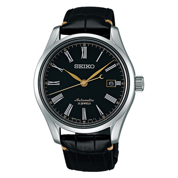 SEIKO セイコー機械式腕時計 メカニカル プレザージュ メンズ漆ダイヤルSARX029