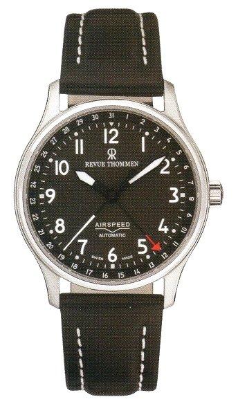 レビュートーメン自動巻き腕時計REVUE THOMMEN CLASSIC 16005.2537