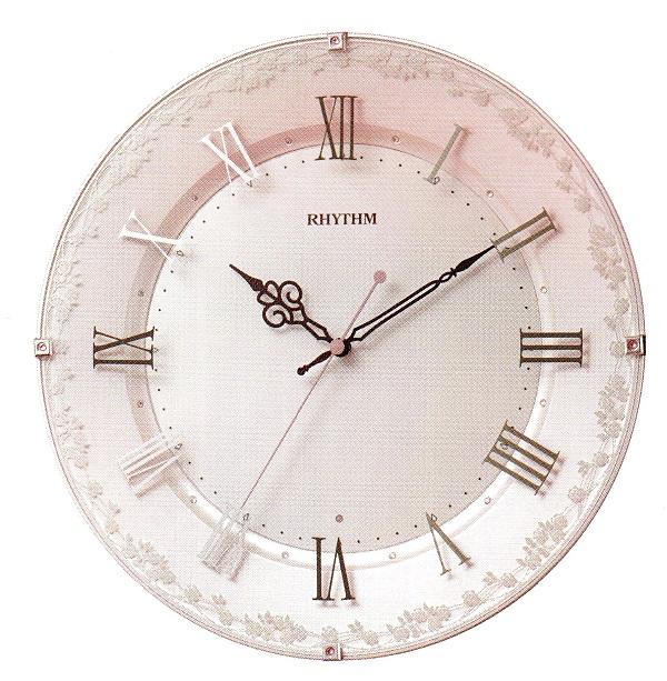 RHYTHM リズム時計電波掛時計アラカルト538 8MY538SR13