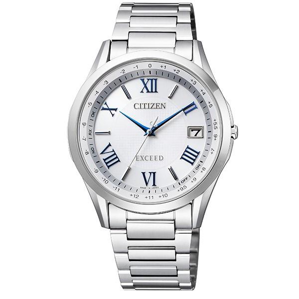 シチズン腕時計ソーラー電波時計 エクシードメンズダイレクトフライト針表示式CB1110-61A