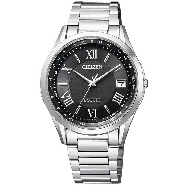 シチズン腕時計ソーラー電波時計 エクシードメンズダイレクトフライト針表示式CB1110-61E