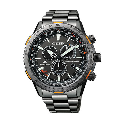 シチズン腕時計 ソーラー電波時計プロマスター PROMASTERダイレクトフライCB5007-51H