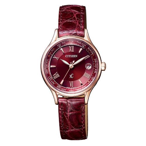 シチズン腕時計 XCクロスシーティタニア ライン ハッピーフライトモデル ソーラー電波時計EC1164-02W
