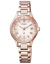 シチズン腕時計 XCクロスシーティタニア ライン ハッピーフライトモデル ソーラー電波時計EC1164-53W