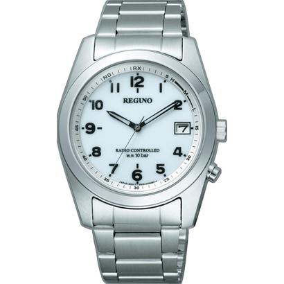 シチズン電波ソーラー時計電波腕時計 レグノ RS25-0482H