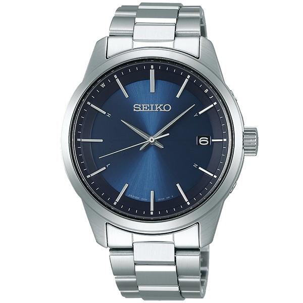 SEIKO セイコー電波 ソーラー腕時計 セイコーセレクションメンズSBTM253