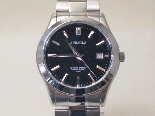 オレオール腕時計メンズ クオーツSW-409M-1