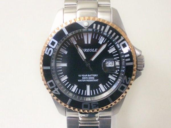 オレオール腕時計メンズ クオーツSW-416M-A2