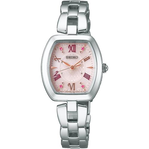 SEIKO セイコー電波 ソーラー腕時計 セイコーセレクションレディス SWFH097