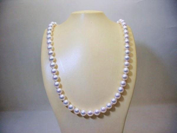 アコヤ貝本真珠パールネックレス 7.0mm~7.5mm101-2462