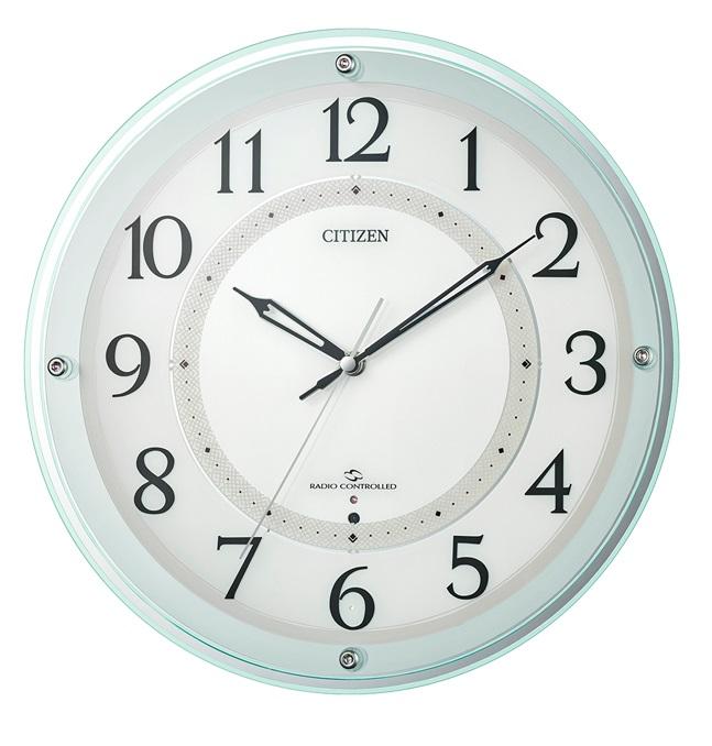 CITIZENシチズン掛時計スリーウェイブ高感度電波時計4MY859-005