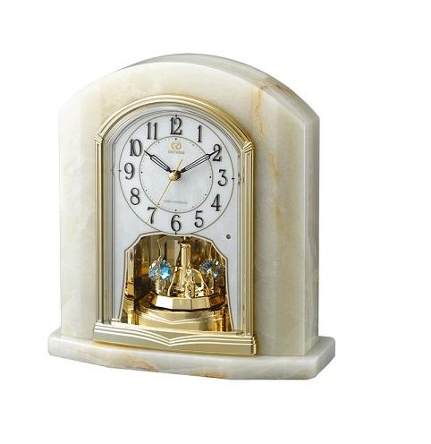 RHYTHMリズム時計高級置時計電波時計RHG-S48 4RY685HG05