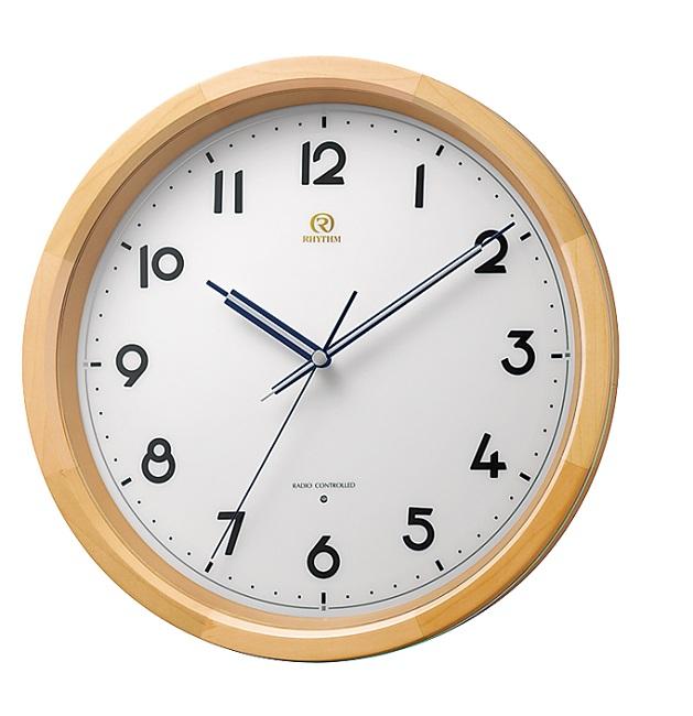 RHYTHMリズム時計高級掛時計電波時計ハイグレード PISTA(ピスタ)シリーズPISTA-M3 8MY541HG06