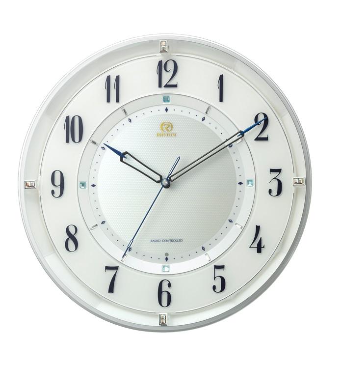 RHYTHMリズム時計高級掛時計電波時計RHG-M120 8MY558HG03