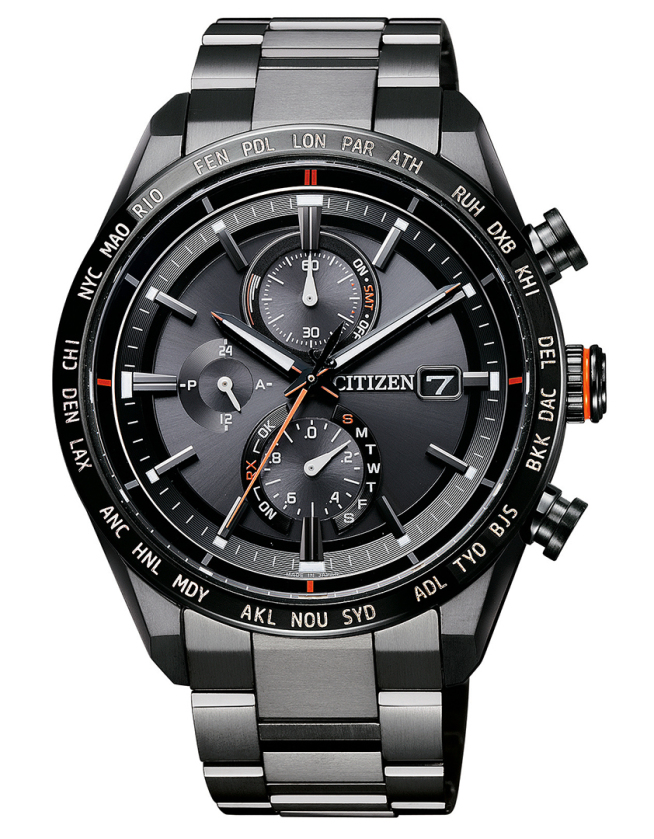 シチズン腕時計ソーラー電波時計エコ・ドライブ AT8185-62E