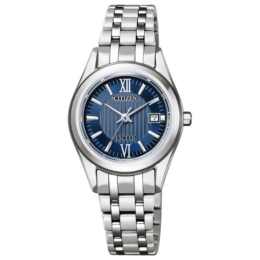 シチズン腕時計ソーラー時計 エクシードレディスFE1001-58L