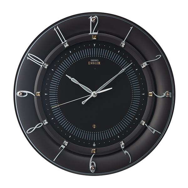 SEIKOセイコー高級電波掛時計エンブレムEMBLEM HS559B