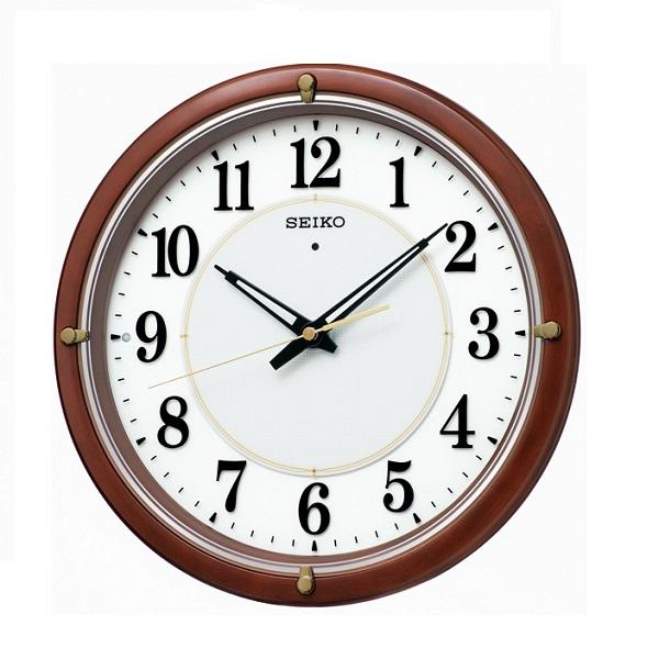 SEIKOセイコー 掛時計 夜間自動点灯電波掛時計KX240B