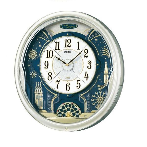 SEIKOセイコーからくり掛時計 ウェーブシンフォニーRE561H