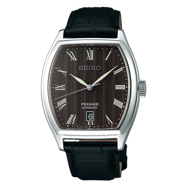SEIKO セイコー機械式腕時計 メカニカル プレザージュ メンズベーシックラインSARY113