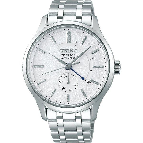 SEIKO セイコー機械式腕時計 メカニカル プレザージュ メンズベーシックラインSARY143