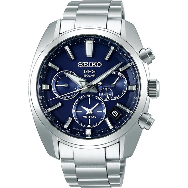 SEIKO ASTRONセイコー腕時計 アストロン5Xシリーズ デュアルタイムステンレススティール GPS衛星電波時計SBXC019