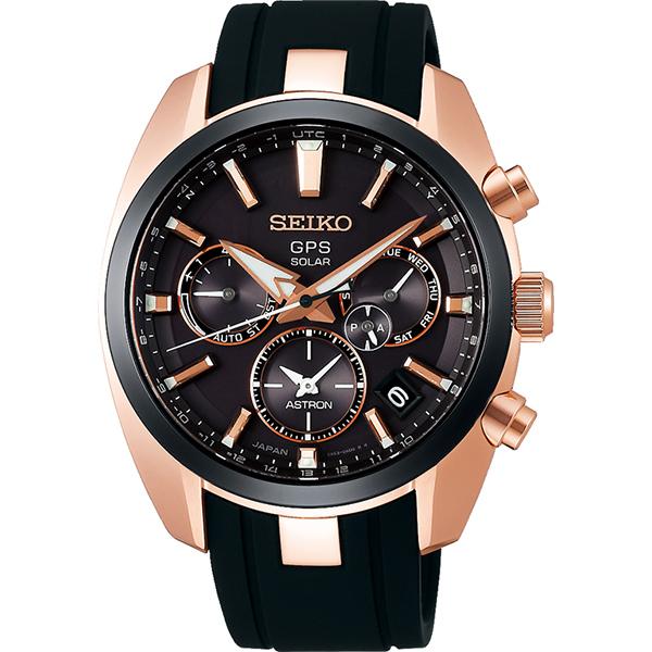 SEIKO ASTRONセイコー腕時計 アストロン5Xシリーズ デュアルタイムステンレススティール GPS衛星電波時計SBXC024