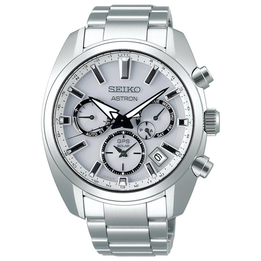 SEIKO ASTRONセイコー腕時計 アストロン5Xシリーズ デュアルタイムステンレススティール GPS衛星電波時計SBXC047