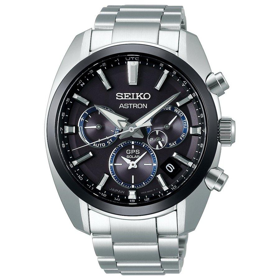 SEIKO ASTRONセイコー腕時計 アストロン5Xシリーズ デュアルタイムステンレススティール GPS衛星電波時計SBXC053