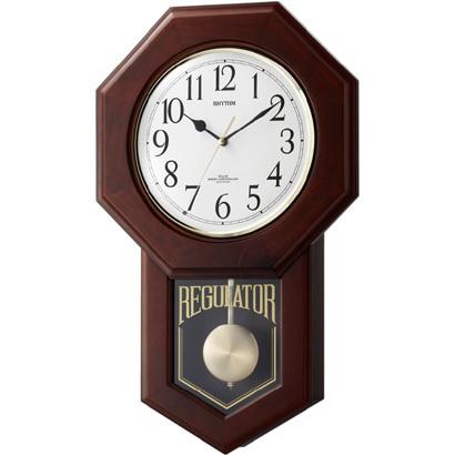 CITIZEN RHYTHM リズム時計 掛時計電波振り子時計モーランドR 4MNA06RH06
