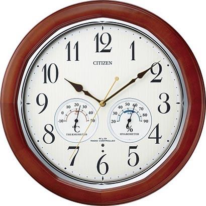 CITIZENシチズン掛時計ネムリーナインフォートW電波時計