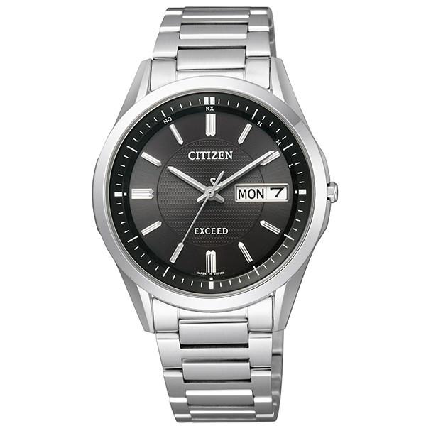 シチズン腕時計 ソーラー電波時計 エクシードAT6030-51E