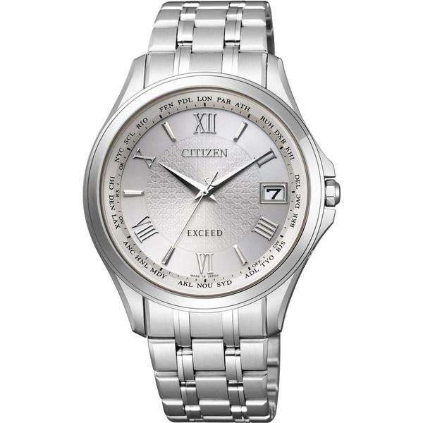 シチズン腕時計ソーラー電波時計 エクシードメンズCB1080-52A