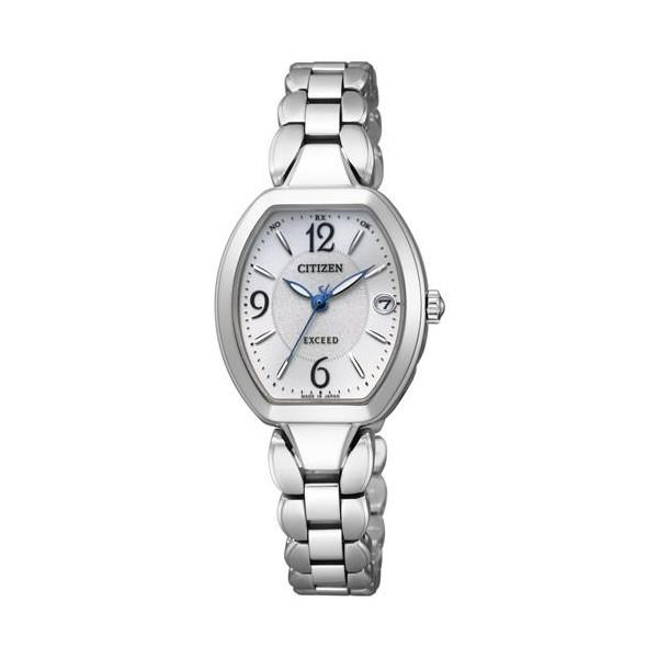 シチズン腕時計ソーラー電波時計 エクシードレディスES8060-57A