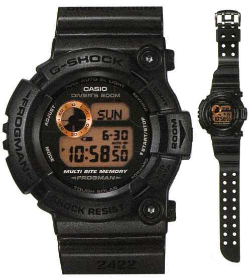 CASIO Gショック カシオ腕時計フロッグマンメン・イン・ラスティブラック限定モデルGW-200MS-1JF