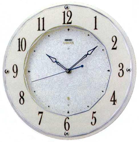 SEIKOセイコー高級電波掛時計エンブレムHS524W