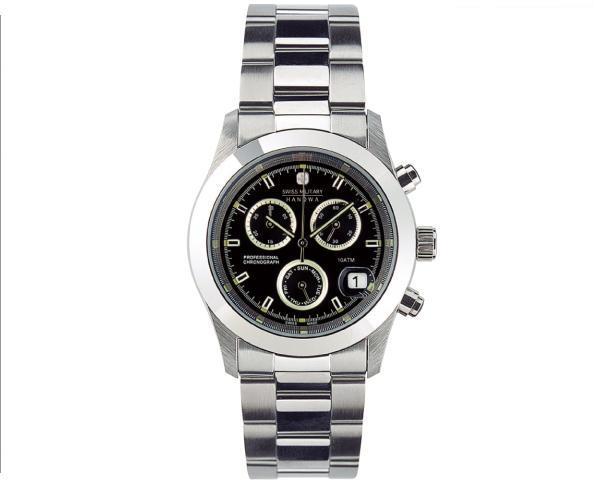 スイスミリタリー腕時計 ELEGANT BIG CHRONOメンズML244