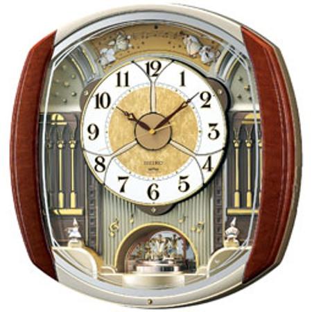 SEIKOセイコー掛時計からくり電波時計ウェーブシンフォニーRE564H