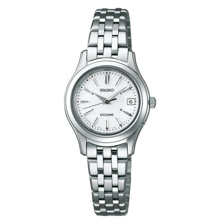 SEIKO セイコー腕時計 ソーラー電波時計 エクセリーヌ SWCW023