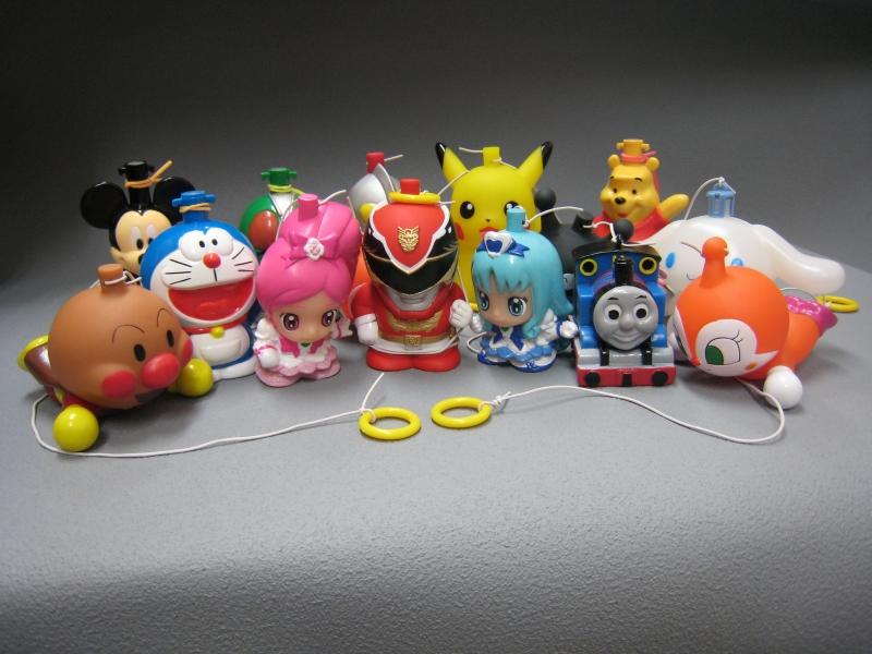 キャラクタープラヨーヨーアソートパック(50入)