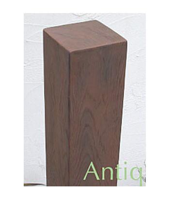 【送料無料】 FRP製だから腐ったり黒ずんだりしないシンプルな木目がポイントディーズガーデン商品合計2万円以上お買い上げの方に人工芝プレゼント中 フェンス・門柱 ディーズデコティンバー ナチュラル120×120タイプ L1850送料・代引き手数料無料の格安丈夫で腐らない樹脂製 軽くて丈夫なFRP製 ディーズガーデン 目隠しに最適 自然な質感 人工木 高耐久 洋風エクステリア