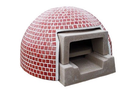 【ガーデンアイテム】E 家庭用ミニ石窯 プチドームタイルカバー カバーのみ◆送料・代引き手数料無料の格安