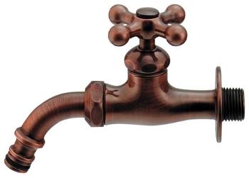 メタリックな表情のシンプルなデザイン 信頼性が高く 屋内でもお使いいただけます KAシリーズガーデン用万能ホーム水栓701-304 ブロンズ 水栓 水道 今だけ限定15%OFFクーポン発行中 蛇口 カラン JIS規格適合品 全国どこでも送料無料 立水栓向け 飾り蛇口