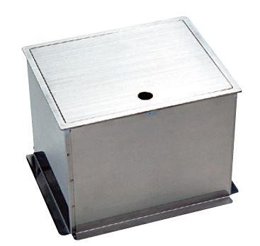 【送料無料】蓋をボックス内に収納できる蓋収納タイプ ni 【立水栓】給水栓ボックス(蓋収納タイプ)◆送料・代引き手数料無料 HAS-FB2N