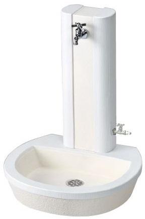 【送料無料】自然の素材感を表現 ni※蛇口・補助蛇口は別途必要です。 【立水栓ユニット】立水栓ユニット フォレット 地中・補助蛇口配管仕様◆送料・代引き手数料無料