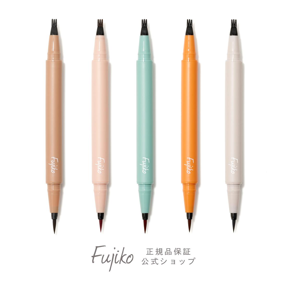 にじまず描きやすい。抜け感あるデカ目をつくる。 [新商品]【Fujiko公式】フジコ仕込みアイライナー ドットライナー カラーライナー リキッドアイライナー ウォータープルーフ スマッジプルーフ フジコ