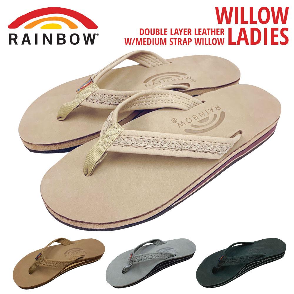 レインボーサンダル ウィロー レディース WILLOWRAINBOW SANDALS WILLOW Women'sサイズ S M L(レザーサンダル ビーチサンダル 水 ハワイ)【送料無料】