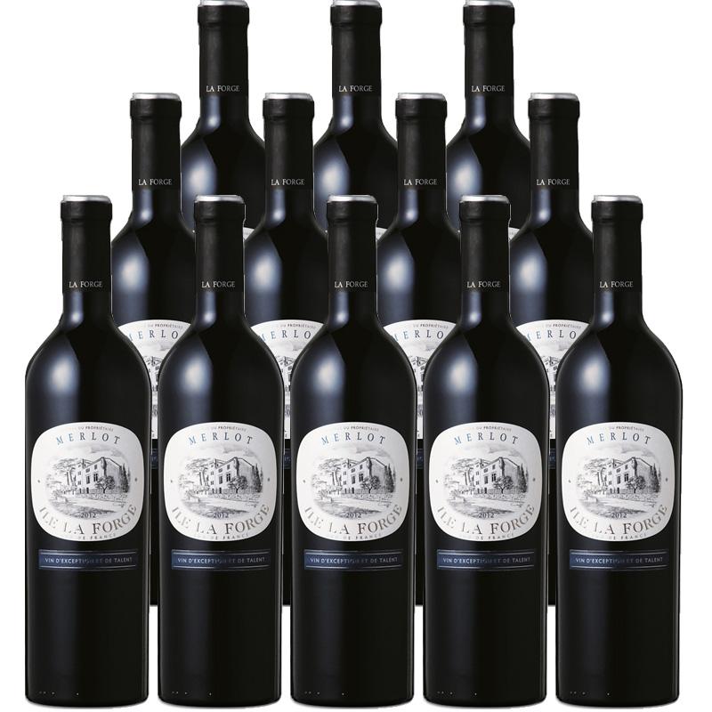 【12本で33%off】 ラ・フォルジュ メルロー 750ml×12本※12本まで1個口で発送可能※お届けするワインのヴィンテージが画像と異なる場合がございます。※ヴィンテージについては、ご注文前にお問い合わせ下さい。