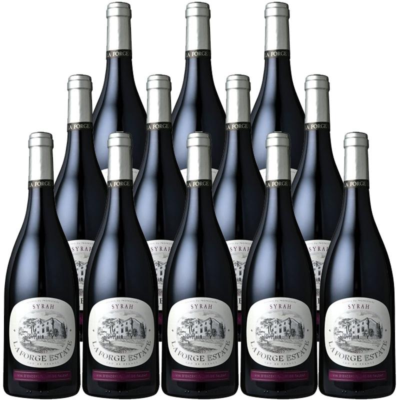 【12本で33%off】 ラ・フォルジュ シラー 750ml×12本※12本まで1個口で発送可能※お届けするワインのヴィンテージが画像と異なる場合がございます。※ヴィンテージについては、ご注文前にお問い合わせ下さい。
